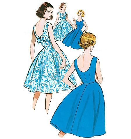 B5748 Misses' Petite Dress | Easy | Vintage from Jaycotts Sewing Supplies