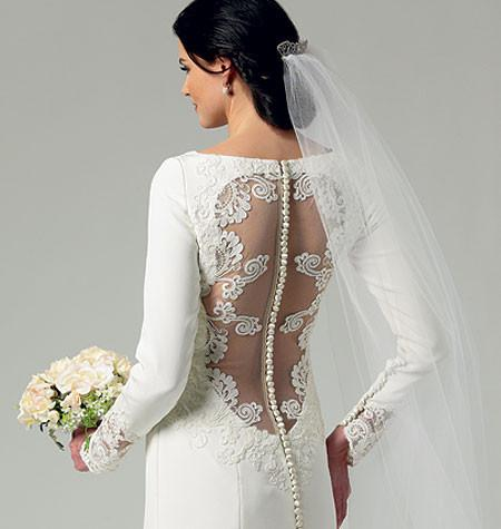 B5779 Misses' Wedding Dress