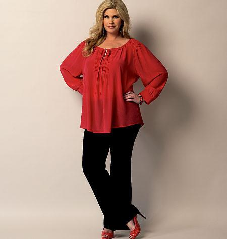 B5861 Womens' Tunic | Average