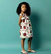 B5876 Toddlers'/Children's Dress