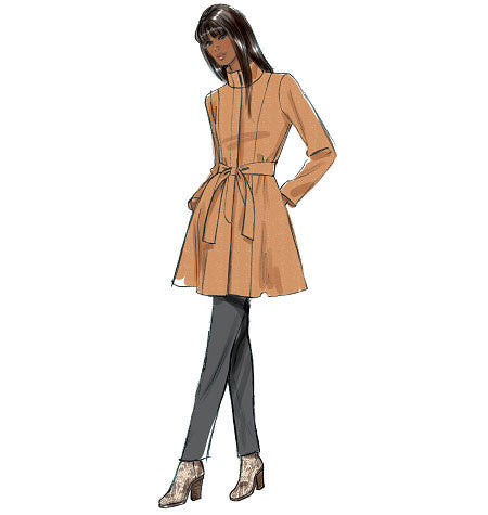 B5966 Women's Jacket, Coat & Belt | Easy