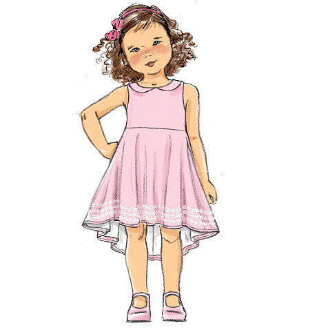 B6013 Girls' Dress | Easy