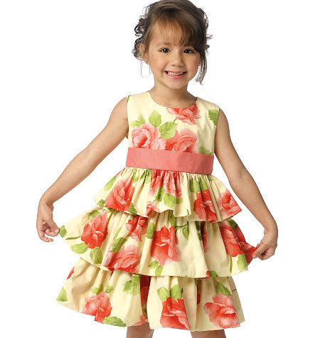 B6161 Childrens' / Girls' Dress from Jaycotts Sewing Supplies