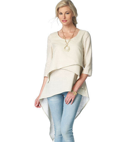 B6172 Misses' Top & Tunic