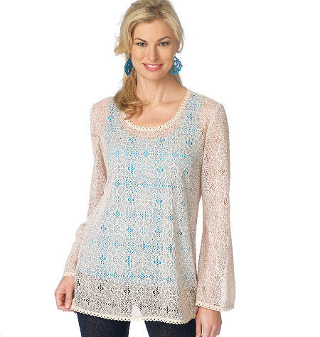 B6173 Misses' Tunic & Top