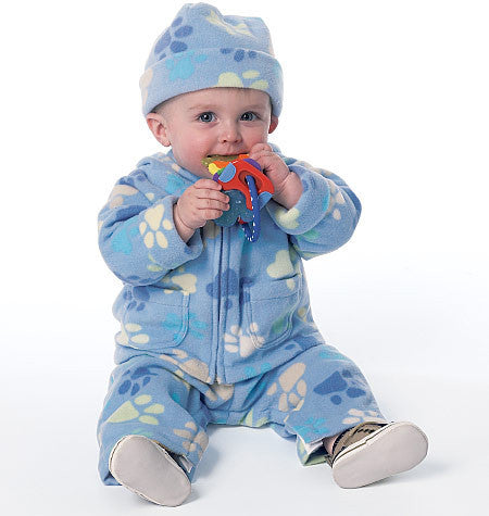 B6238 Infants' Jacket, Overalls, Pants, Bunting and Hat from Jaycotts Sewing Supplies