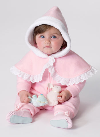 B6372 Infants' Cape, Vest, Buntings and Pull-On Pants