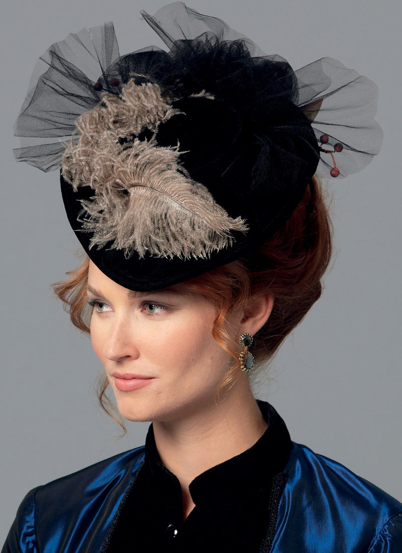 B6397 Misses' Hats in Four Styles