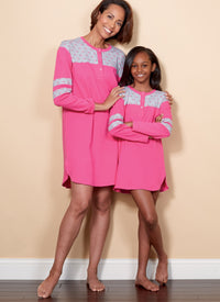 B6531 Top, Tunic, Shorts and Pants | Adults / Children