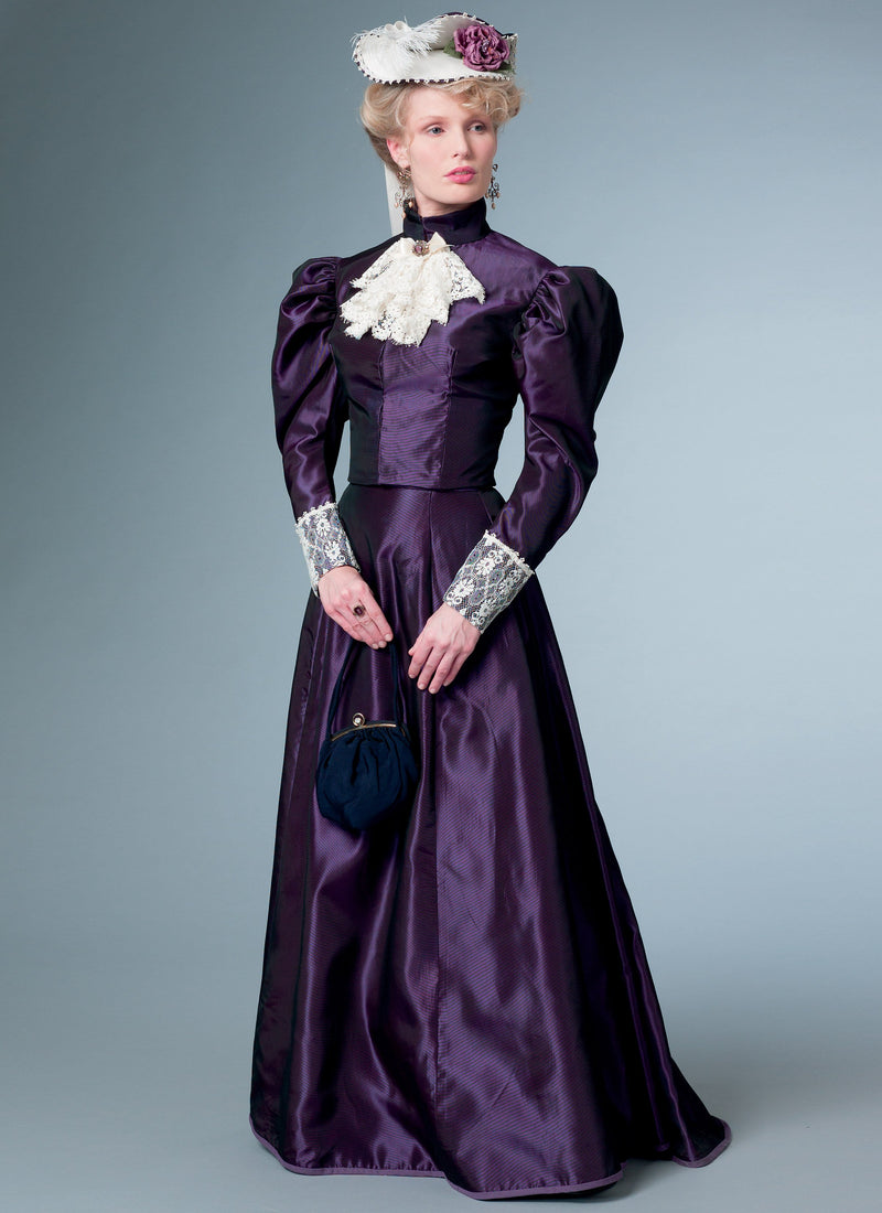 B6537 Misses' Edwardian Costume