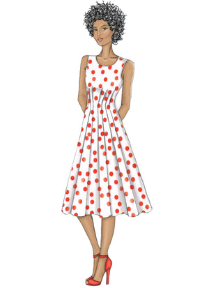 B6555 Misses Dress Pattern