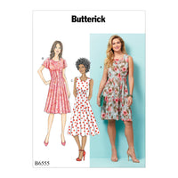 B6555 Misses Dress Pattern from Jaycotts Sewing Supplies