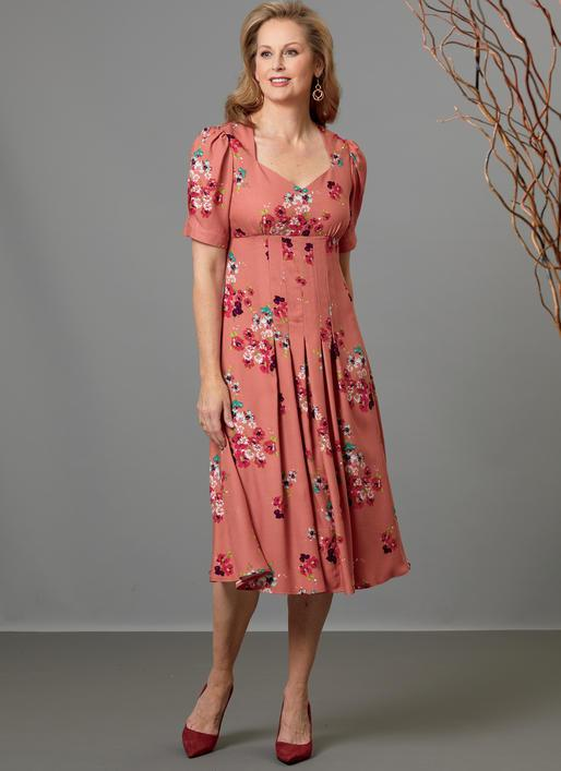 B6586 Misses' Dress Pattern