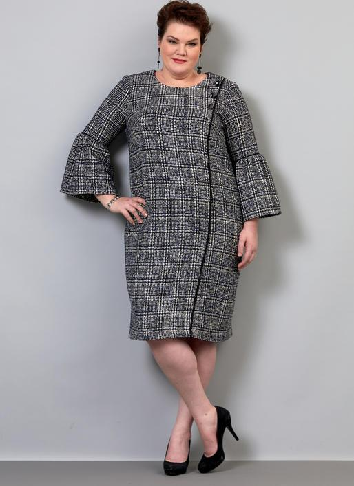 B6587 Misses/ Women's Dress Pattern