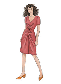 Butterick B6621 Misses' Dress sewing pattern