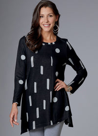 Butterick B6633 Misses' Tunic sewing pattern