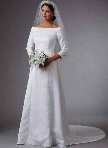 Butterick B6639 Bridal Dress sewing pattern