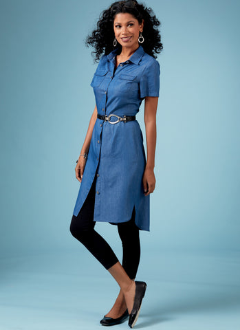 Butterick B6640 Misses'/ Petite Top, Dress and Pants pattern