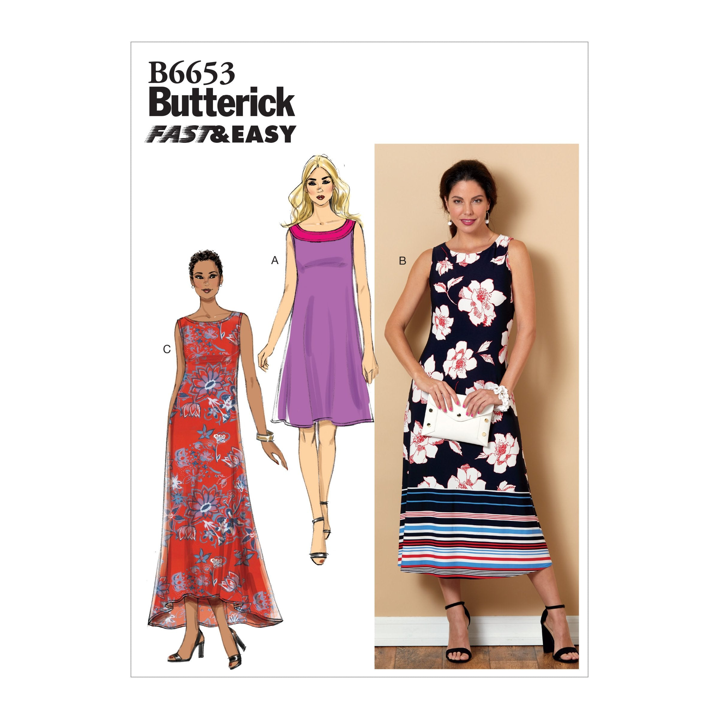 Butterick B6653 Dress Sewing Pattern