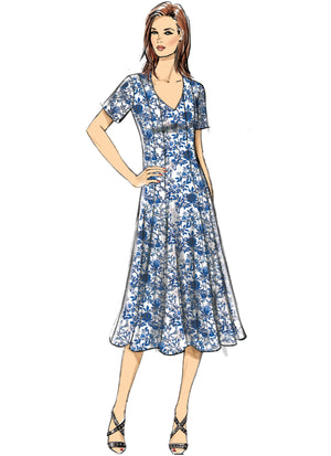 Butterick B6660 Misses / Womens Dress Sewing Pattern