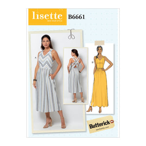 Butterick B6661 Dress Sewing Pattern