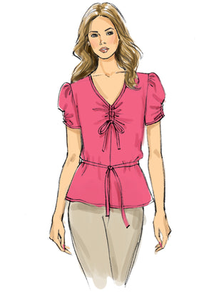Butterick B6662  Top and Tie Sewing Pattern