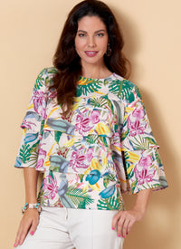 Butterick B6664 Top Sewing Pattern