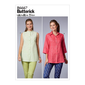 Butterick B6667 Top Sewing Pattern