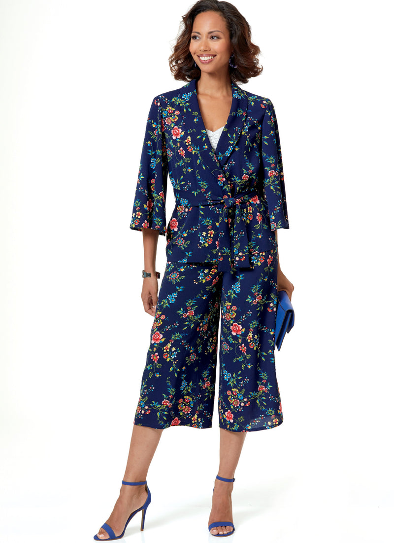 Butterick B6669 Misses/ Petite Jacket, Top, Dress, Skirt, Pants from Jaycotts Sewing Supplies
