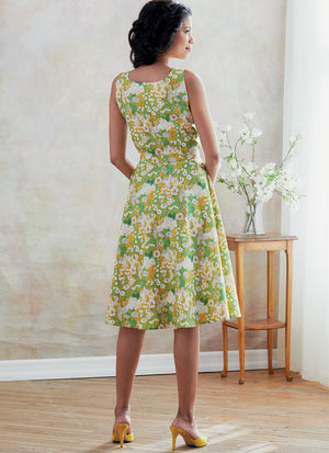 Butterick B6674 Misses' Dress, Sash and Bag | Easy from Jaycotts Sewing Supplies