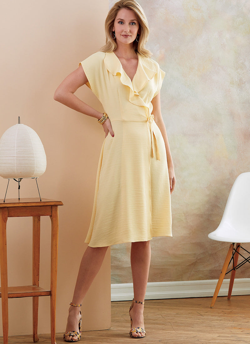 Butterick B6675 Misses'/Women's Dress | Easy from Jaycotts Sewing Supplies