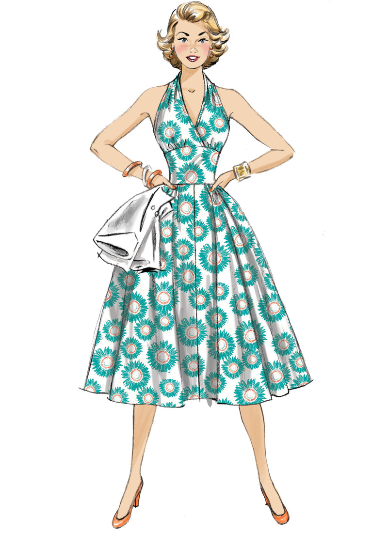 Butterick B6682 Fifties Dress and Jacket Pattern
