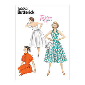 Butterick B6682 Fifties Dress and Jacket Pattern from Jaycotts Sewing Supplies