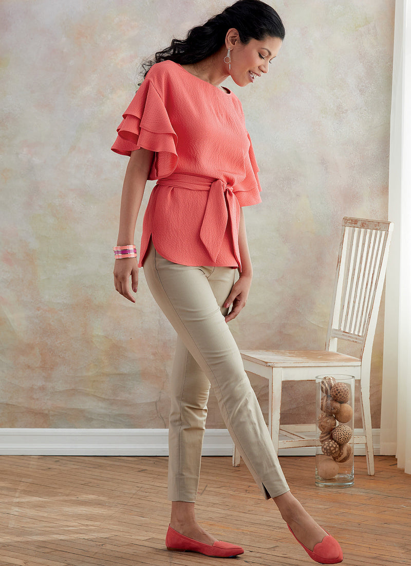 Butterick B6685 Misses' Top and Sash | Very Easy from Jaycotts Sewing Supplies