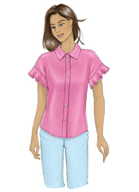 Butterick B6686 Misses' Top | Very Easy