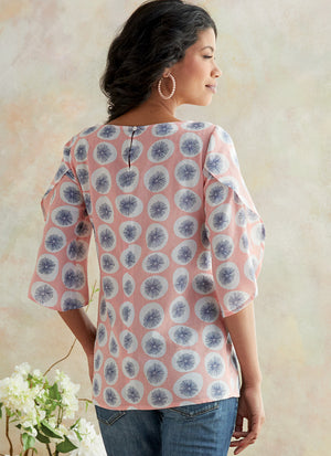 Butterick B6687 Misses' Top | Easy