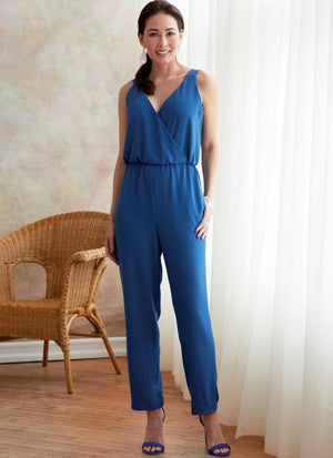Butterick B6691 Misses' Jacket and Jumpsuit | Easy from Jaycotts Sewing Supplies