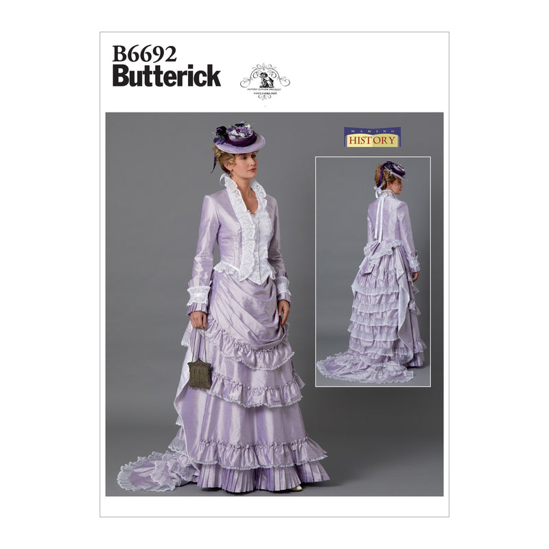 Butterick B6692 Misses' Costume Pattern