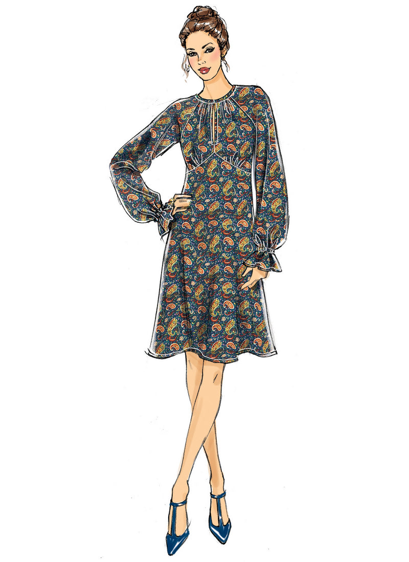 Butterick Sewing Pattern 6705 Dress from Jaycotts Sewing Supplies