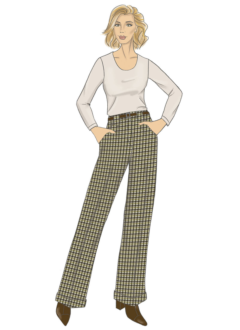 Butterick Sewing Pattern 6715 Misses / Petite Pants from Jaycotts Sewing Supplies