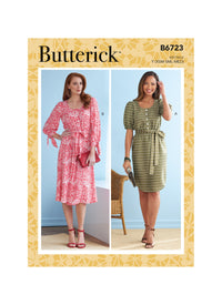 Butterick Sewing Pattern 6723 Misses' Dresses