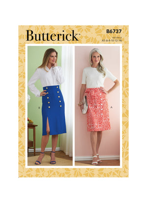 Butterick Sewing Pattern 6737 Misses' Skirts from Jaycotts Sewing Supplies
