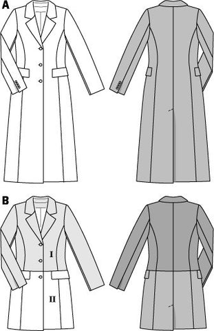 BD6845 Misses Coat & Jacket