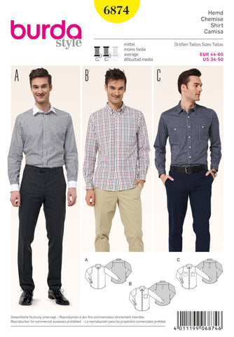 BD6874 Mens' Shirts