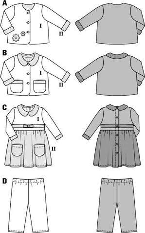 BD9422 Boys' & Girls' Outfit Coordinates
