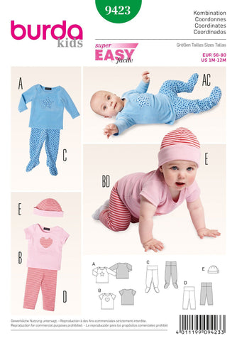BD9423 Babies' Outfit