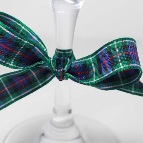 Berisfords Tartan Ribbon: #8 Rose