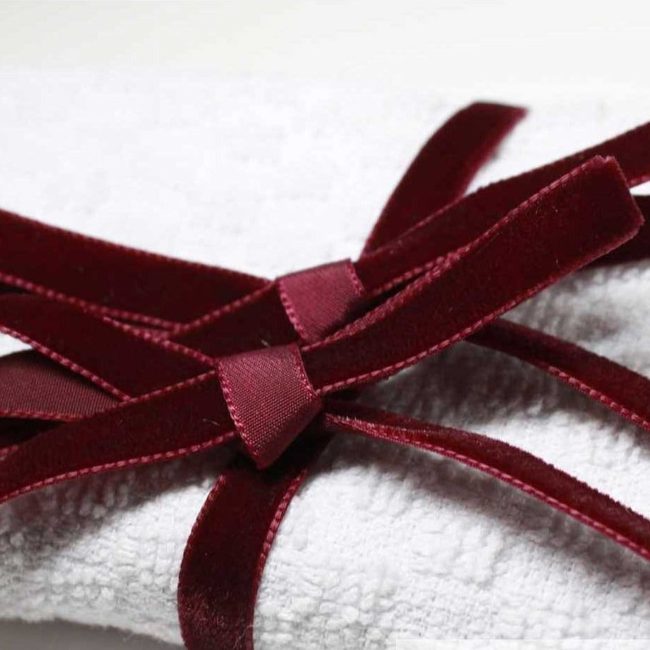 Berisfords Velvet Ribbon (Reds, Pinks & Purples) from Jaycotts Sewing Supplies