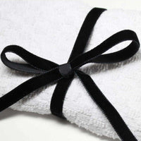 Berisfords Velvet Ribbon (Black, Whites & Creams)