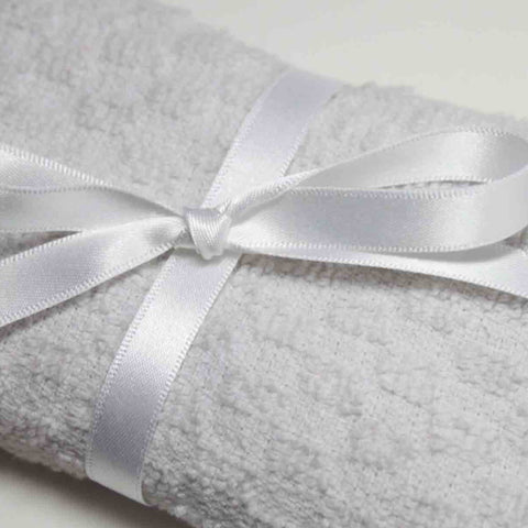 Berisfords Satin Ribbon - White